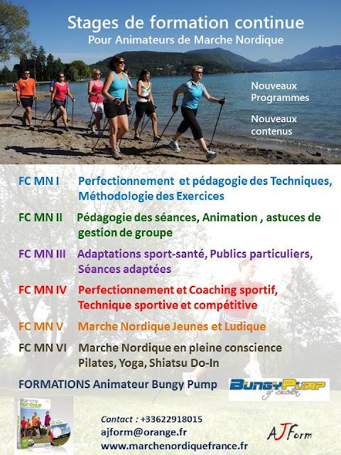Calendrier Marche Nordique 2020.Marche Nordique France Nordic Walking France Formations