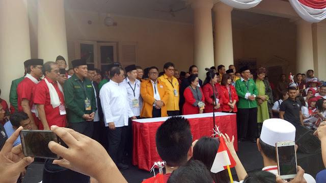 KPU Coret PSI Dan Perindo Sebagai Pendukung Jokowi - Ma'ruf Amin