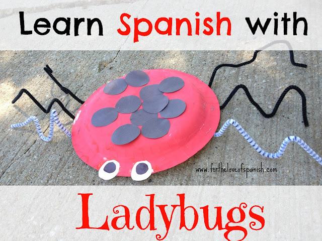 Learn Spanish with Ladybugs // Make a Ladybug!