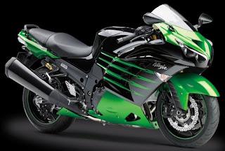 Gambar harga motor sport Kawasaki zx-14R