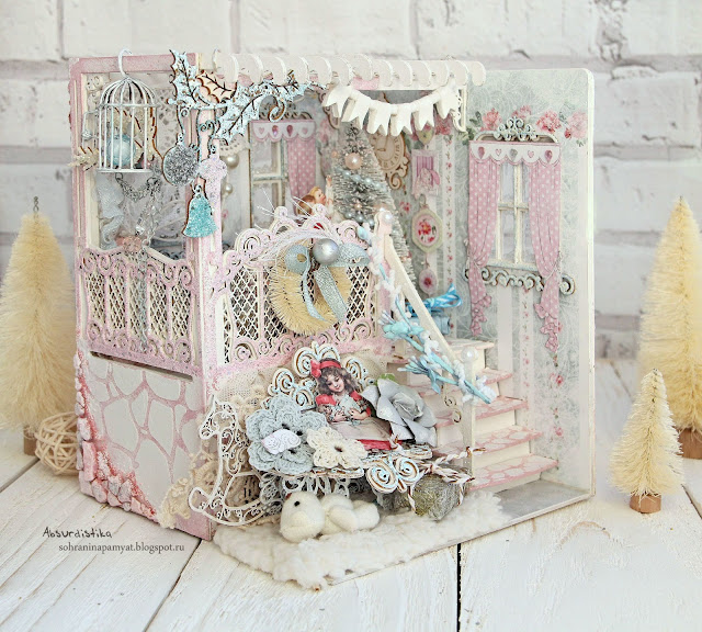 Christmas dollhouse