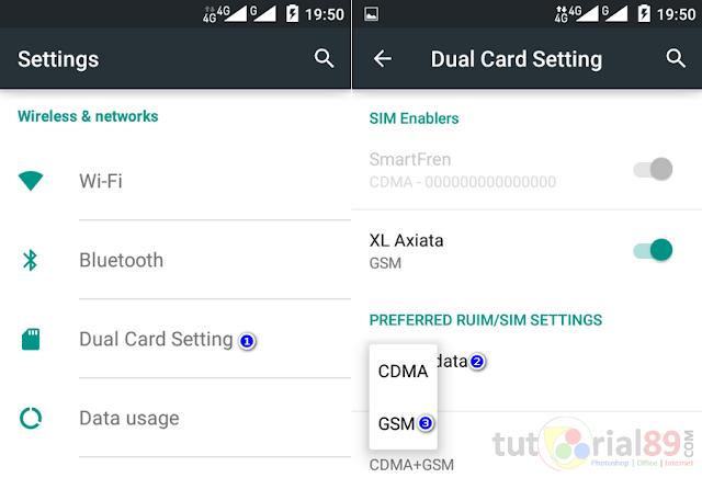 Cara mudah internetan dengan GSM di andromax Ec