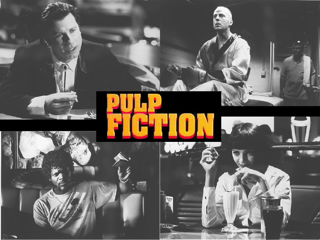 Wallpapers Photo Art Pulp Fiction Wallpaper Movie