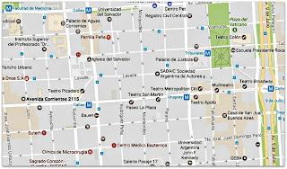 Nove Rainhas - Avenida Corrientes, Buenos Aires (Google Maps)