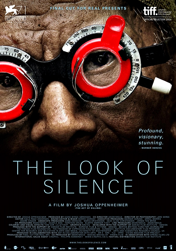 Póster The Look of Silence, de Joshua Oppenheimer