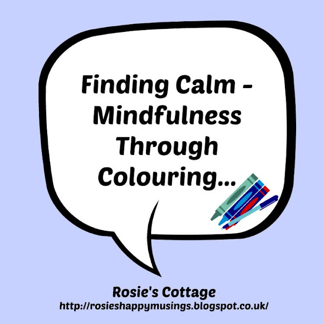 Finding Calm - Mindfulness Through Colouring