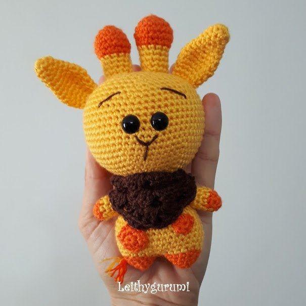 Жираф амигуруми крючком: схема вязания игрушки | AmiguRoom