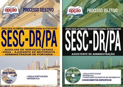 Apostila Concurso SESC-DR/PA 2017