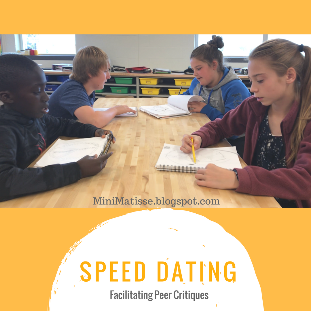 Speed dating education