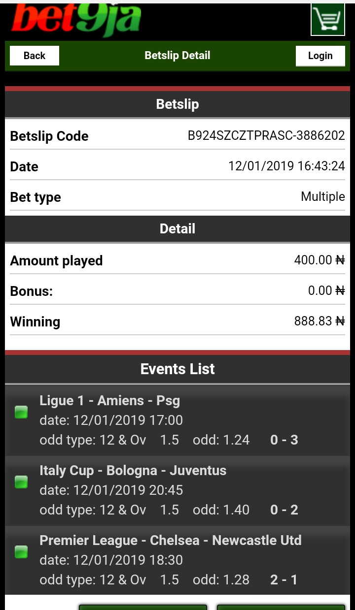 Bet9ja Old Mobile Coupon Checker - Learn How to Check Bet9ja