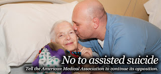 NO to assisted suicide - Tell the AMA to continue it's opposition.