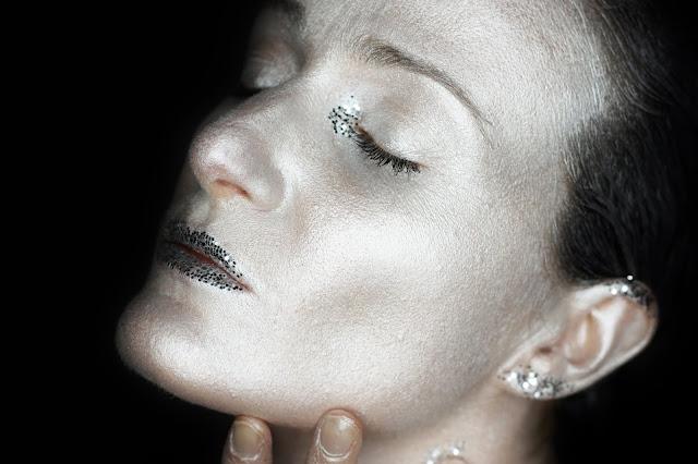 maquillage-artistique-argent