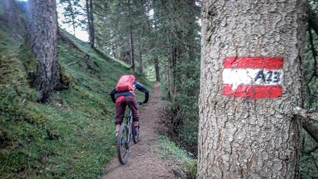 Guiding Wildschönau MTB Mountainbike Trail Track GPS