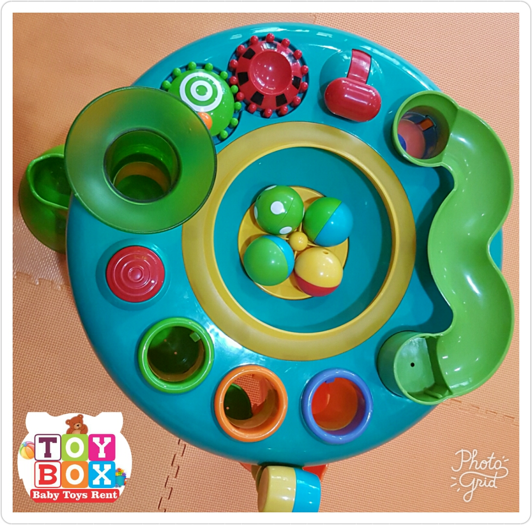 Elc Light And Sounds Activity Table3 Daftar Harga Terbaru Dan Table 130928 Suitable From 12 Months Requires 3 X Aa Batteries 4 Balls Included