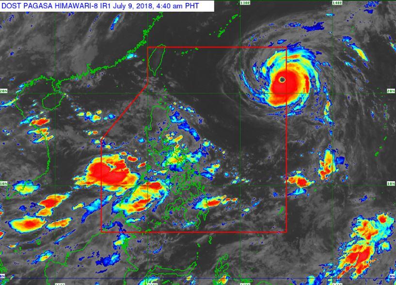 'Super Typhoon' Maria enters PAR, Bagyong Gardo PAGASA