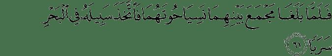 Surat Al Kahfi Ayat 61