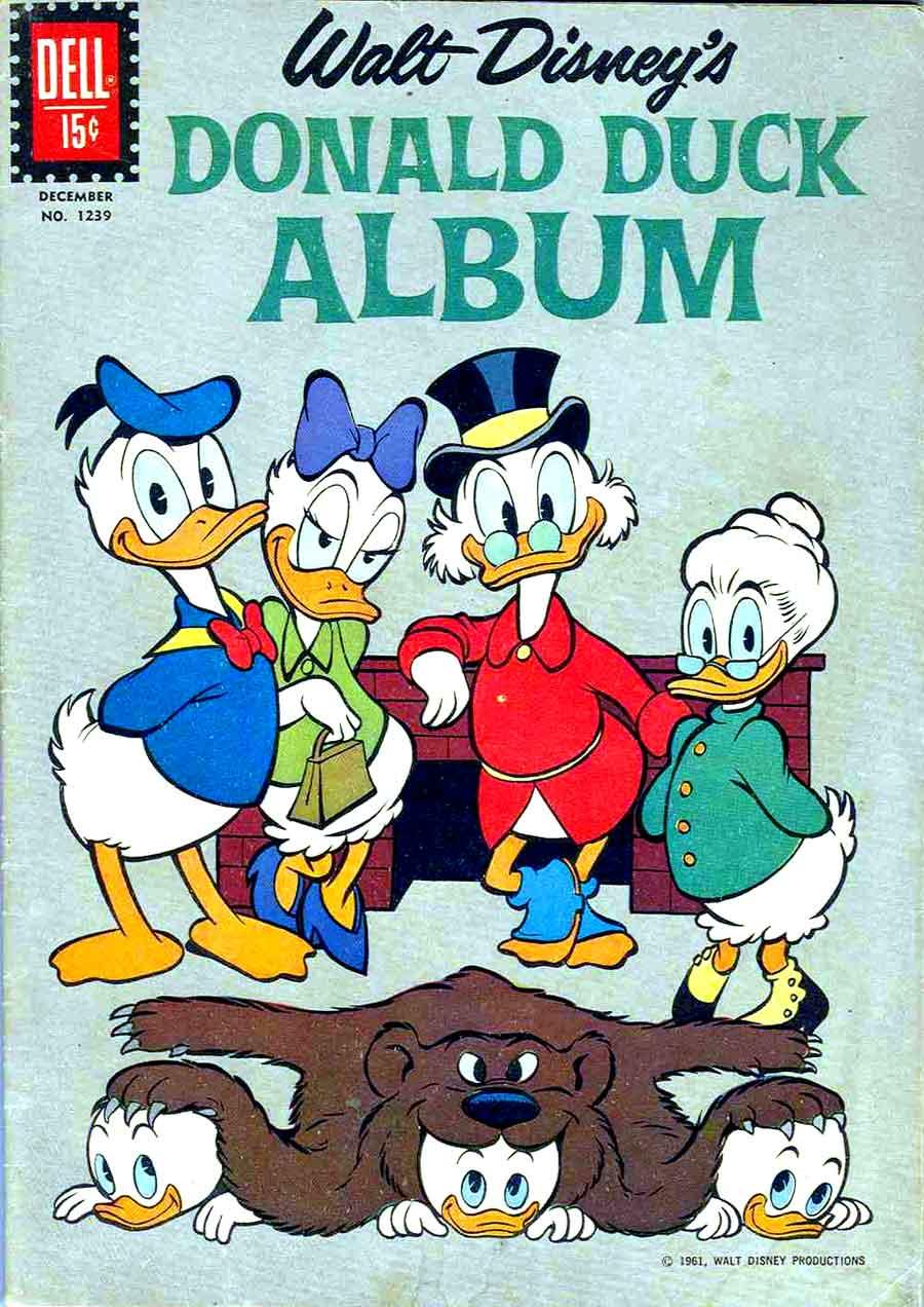 Donald Duck Album Four Color Comics V2 1239 Carl