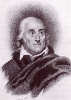Lorenzo da Ponte, as depicted in a 19th century engraving by Michele Pekenino