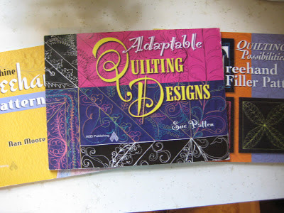 Design books for Free Motion Quilting