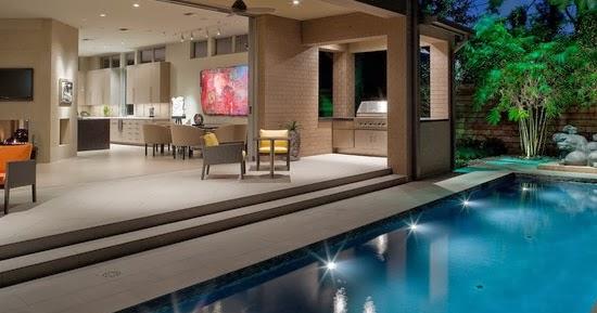 Dise o de interiores arquitectura casa con paisaje for Casa moderna que es