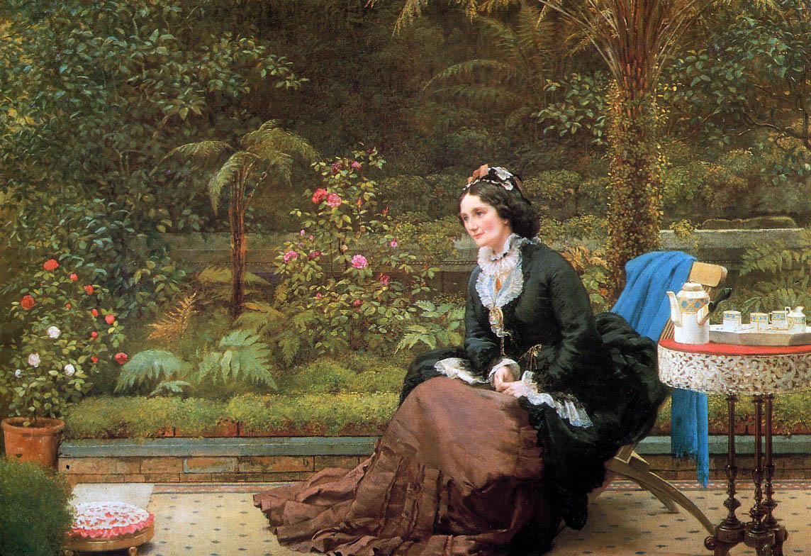 Victorian British Painting George Dunlop Leslie