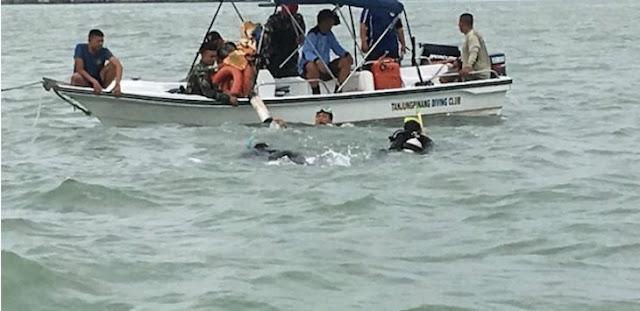 Teriakan Takbir Menggema Sesaat Sebelum Kapal Pompong Tenggelam Di Perairan Tanjungpinang