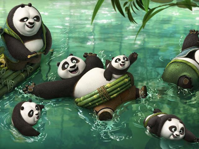 Paradis secret: un sat plin de urşi panda în animaţia Kung Fu Panda 3