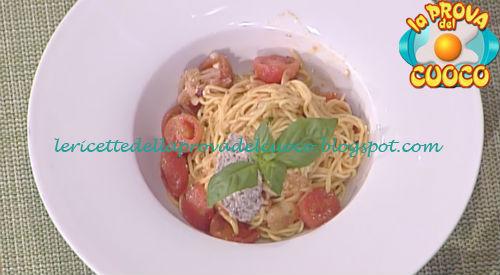 Prova del cuoco - Ingredienti e procedimento della ricetta Tagliolini all'uovo con pomodorini e basilico di Cristian Bertol