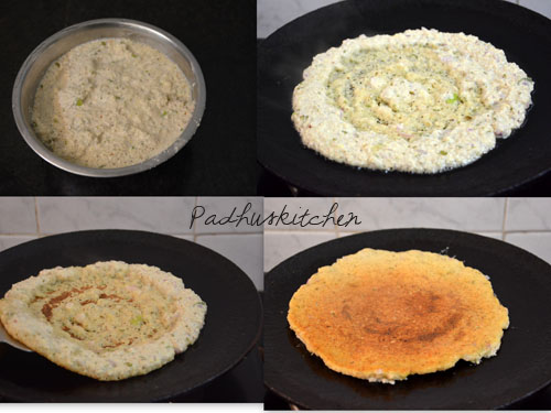 How to make quinoa adai-Indian recipes using quinoa
