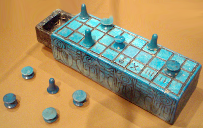 Egyptian Senet Game Board