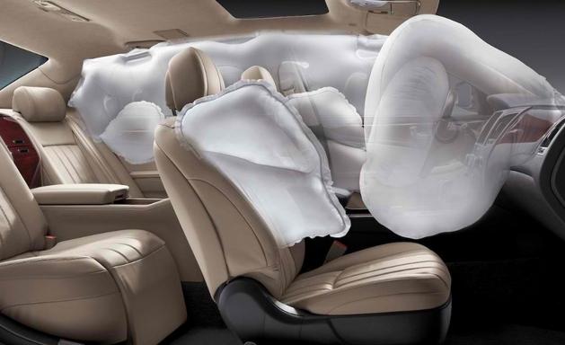 airbag untuk keselamatan mobil keluarga yang nyaman