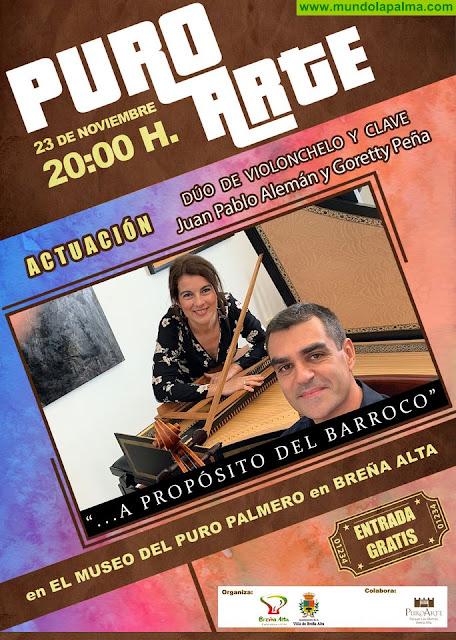 La amplia Agenda Cultural de Breña Alta se abre, este fin de semana, para ofrecer la mejor música en la celebración de Santa Cecilia