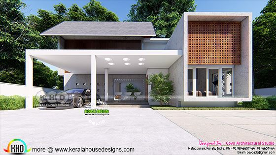 Modern Fusion type house with 5 bedrooms
