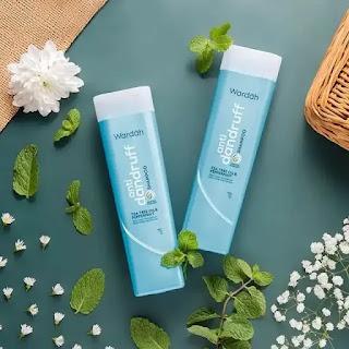 wardah shampoo anti ketombe bagi wanita yang berhijab