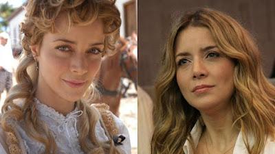 Christine Fernandes antes e depois (Foto: Reprodução)