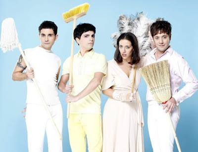 Foto de Miranda vestidos de blanco