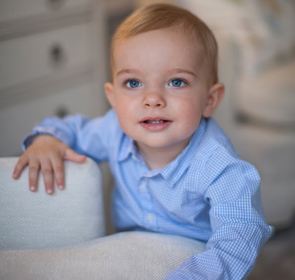 Swedish Prince Nicolas A New Photo For First Birthday, Princess Madeleine