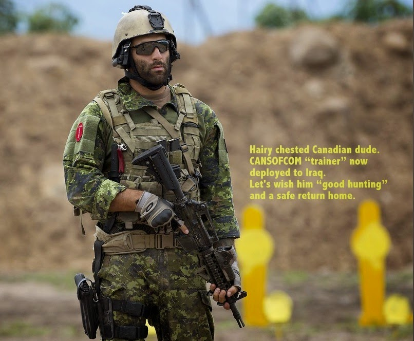 CANSOFCOM - Canadian elite soldier deployed to Iraq