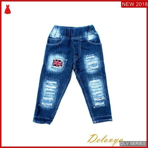 DLV22L36 Long Jeans Anak Ripped Celana Panjang Balita Murah BMG