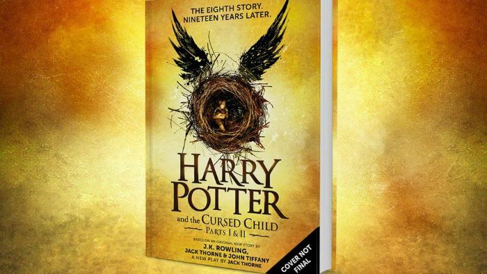 Harry Potter and the Cursed Child - Parts I & II, Presentes para homens, Dia dos Namorados, oitavo livro de Harry Potter