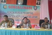 Camat Buka Sosialisasi Perda-Perda Prioritas 2017 Di Kec. Pasimasunggu