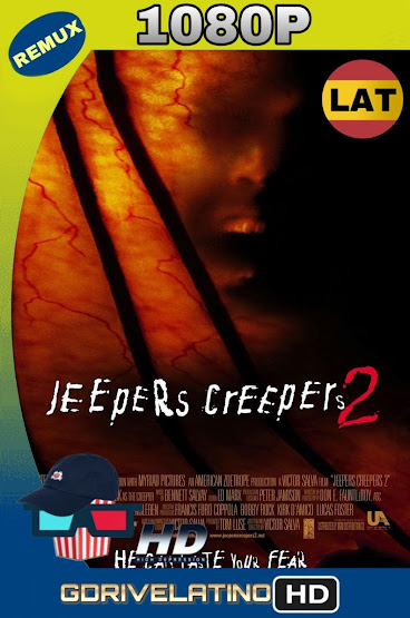 Jeepers Creepers 2 (2003) BDRemux 1080p Latino-Ingles MKV