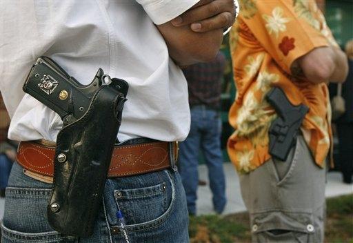 Sí a la portación de Armas… pero con regulaciones