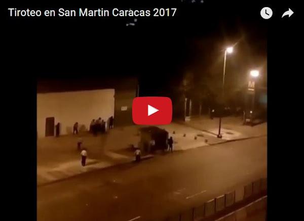 Madrugada de terror madurista en San Martín