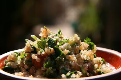 טאבולה קינואה, צילום מזון, אורנה לבנה