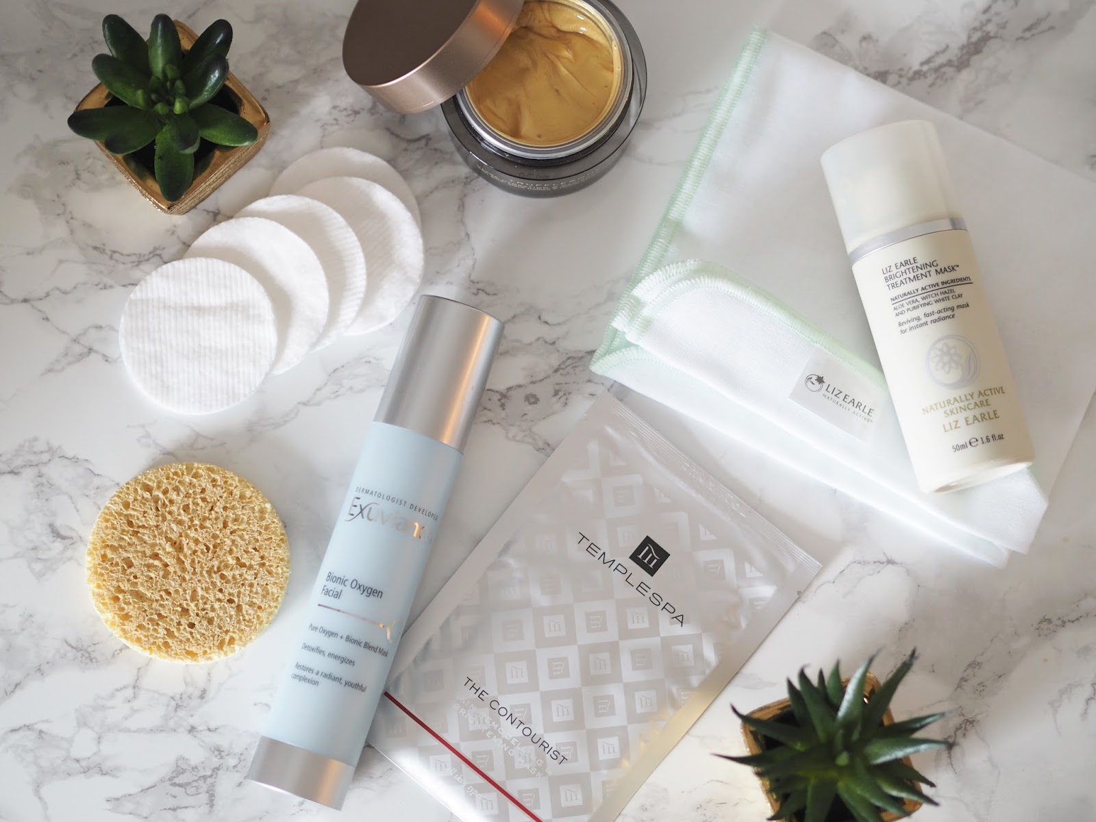 beauty \ face mask \ Temple Spa \ Trufflesque \ The Contourist review \ Liz Earle \ Exuviance review \ skincare \ Priceless Life of Mine \ Over 40 lifestyle blog