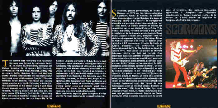 SCORPIONS - In Trance + Virgin Killer [Axe Killer / Bad Reputation remastered +7]  booklet