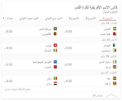 حماية المنافسة تعلن اذاعة كاس الامم الافريقية 2017 على التليفزيون المصري