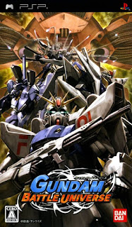 Gundam Battle Universe JAP PSP GAME