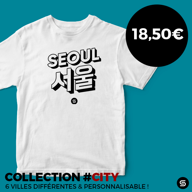 seoul city tshirt